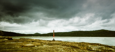 Shot on the Holga 120 panoramic camera, love the plastic lens on this