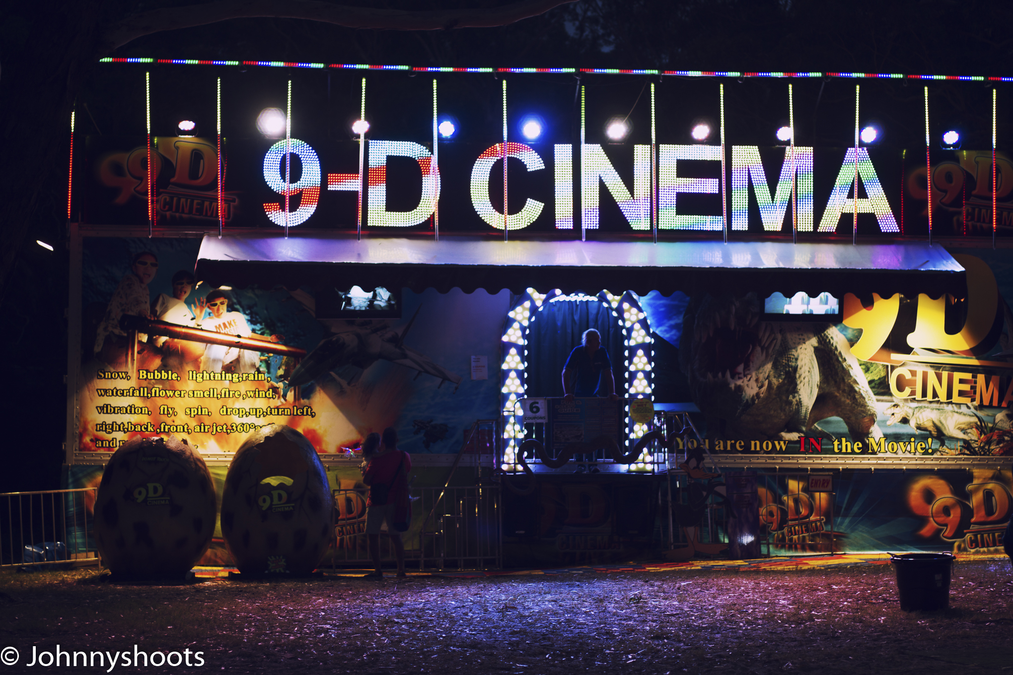 9D Cinema- cool better than 4K