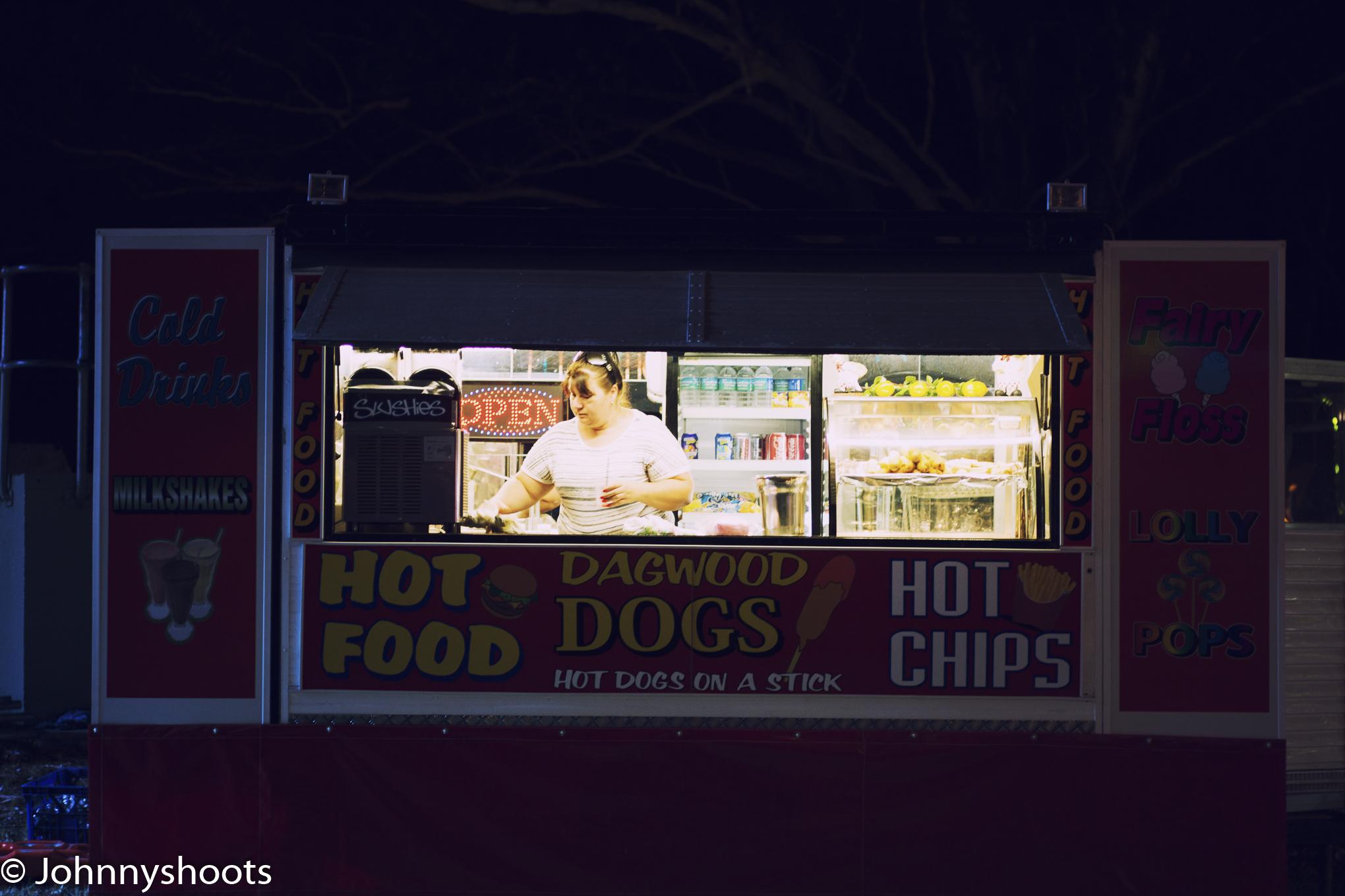 Cross process hot dogs