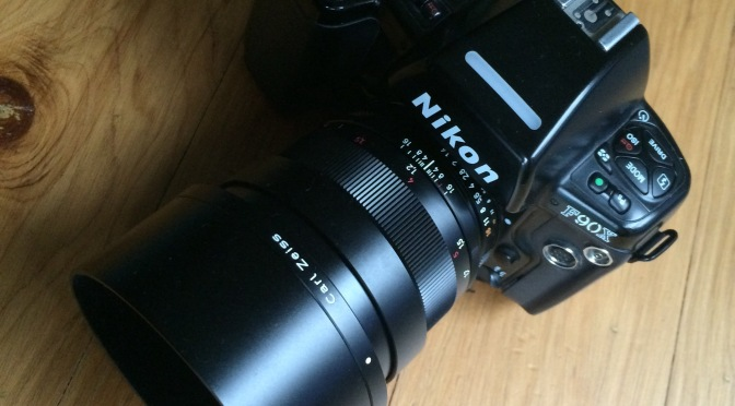 Zeiss 85mm f1.4 & F90x
